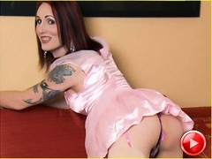TS doll Brittany St. Jordan undresses for you