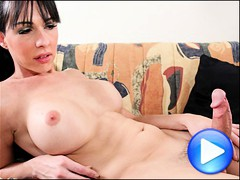Beautiful Canadian tgirl puts on a superb solo dildo show